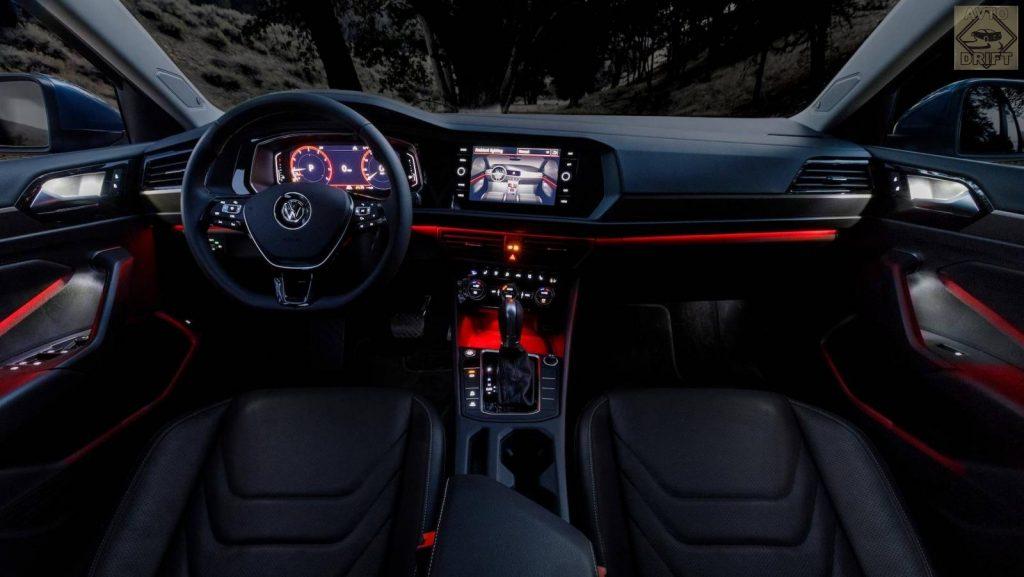 2019volksw 6150084 29004757 1024x577 - Компания Volkswagen наконец-то официально представила новый седан Jetta на открывшейся автовыставке в Детройте