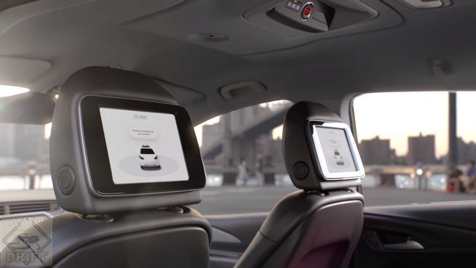 46047b6906 2372970 28976117 - Автокомпания General Motors показала интерьер будущего беспилотного автомобиля, у которого нет ни руля, ни педалей
