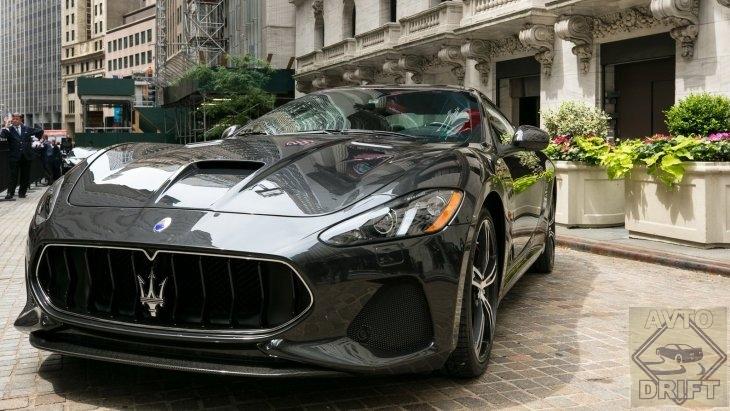 picture - Премьера обновленного Maserati GranTurismo состоялась на бирже Нью-Йорка (NYSE)