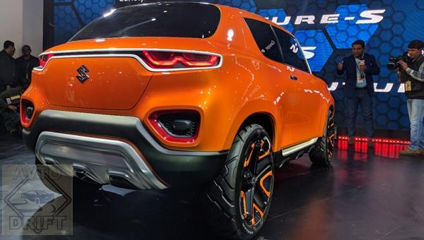 070218 104 - На автошоу «Auto Expo 2018» в Индии представили концепт компактного кроссовера Suzuki Future-S