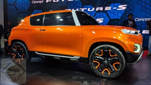 070218 105 - На автошоу «Auto Expo 2018» в Индии представили концепт компактного кроссовера Suzuki Future-S