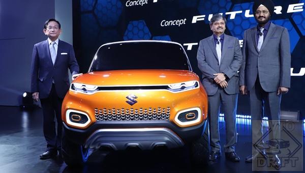 070218 107 - На автошоу «Auto Expo 2018» в Индии представили концепт компактного кроссовера Suzuki Future-S