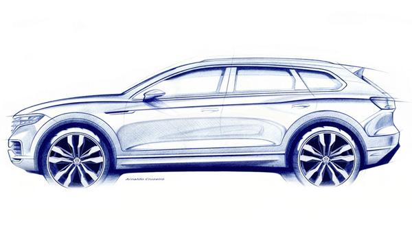 100218 11 - Компания Volkswagen определилась с местом и датой премьеры своего нового флагмана Touareg