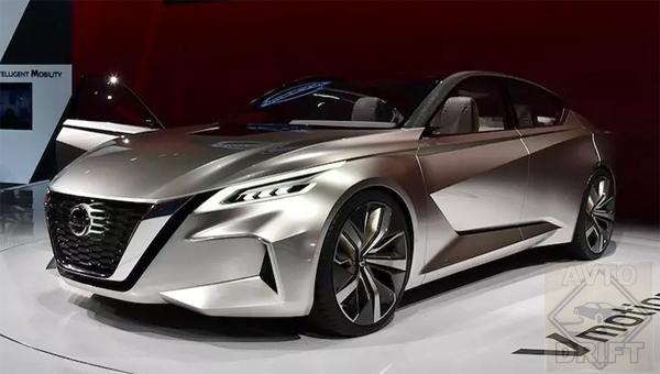 140218 50 - Новый Nissan Teana (Altima) покажут в марте в Нью-Йорке
