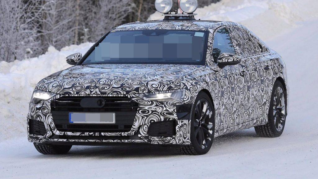 2019 audi a6 spy photo 1024x576 - Audi везёт в Женеву обновленный А6
