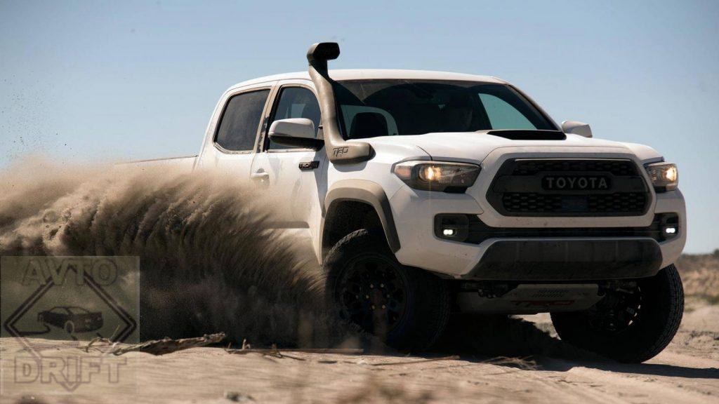 2019 toyota tacoma trd pro 1 1024x576 - Toyota везёт на автосалон «Chicago Auto Show 2018» сразу три экстремальных внедорожника с приставкой TRD Pro