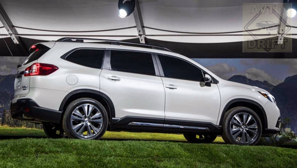291117 72 - Новый восьмиместный Subaru Ascent: стоимость и время начала продаж