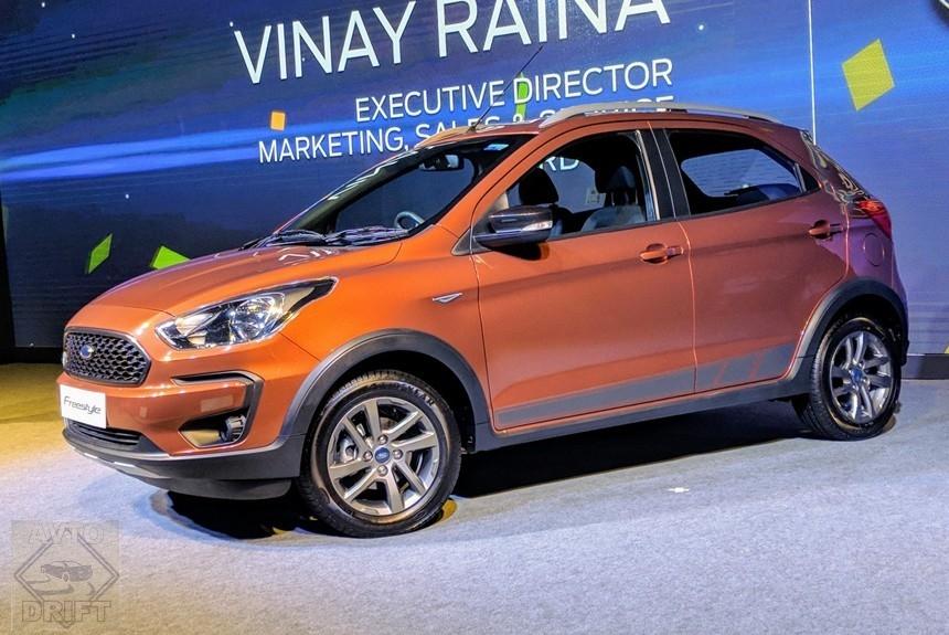 Article 163163 860 575 - В Индии состоялся дебют нового кросс-хэтчбека Freestyle от копании Ford