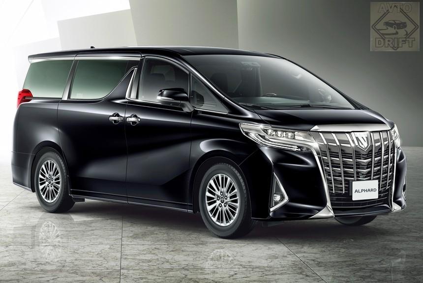 Article 163312 860 575 - Toyota представила обновлённый минивэн Alphard для России