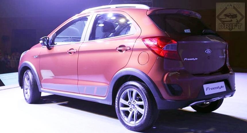 Ford Freestyle3 - В Индии состоялся дебют нового кросс-хэтчбека Freestyle от копании Ford