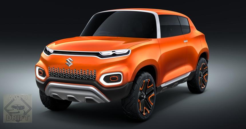 Suzuki Future S 3 - На автошоу «Auto Expo 2018» в Индии представили концепт компактного кроссовера Suzuki Future-S