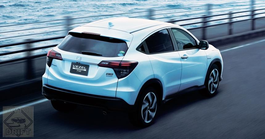 honda vezel2 - Стартовали продажи обновлённого кроссовера Honda Vezel