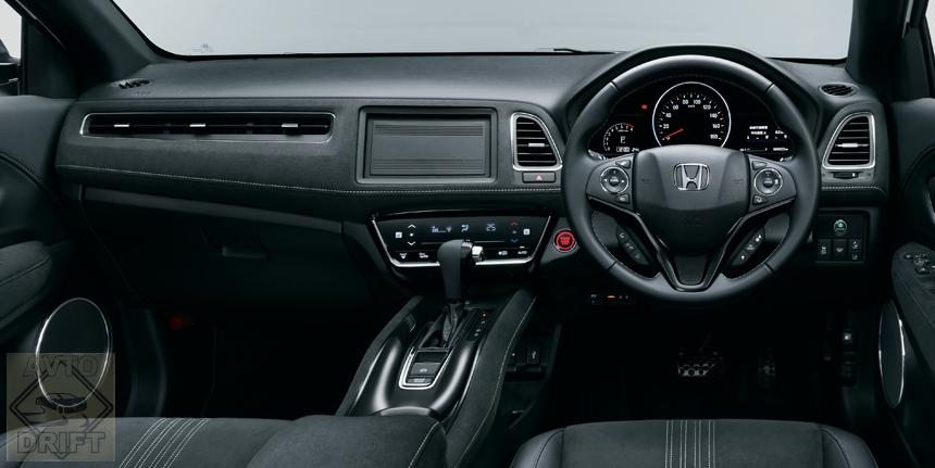 honda vezel3 - Стартовали продажи обновлённого кроссовера Honda Vezel
