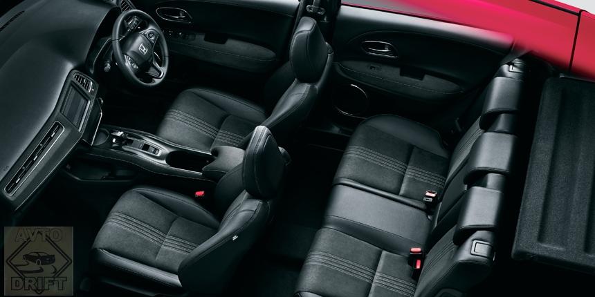 honda vezel5 - Стартовали продажи обновлённого кроссовера Honda Vezel