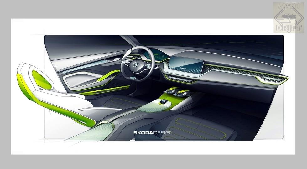 skoda vision x 2018 1  980x0 c default - Ожидаемое пополнение в линейке моделей чешской компании - компактный кроссовер Skoda Vision X