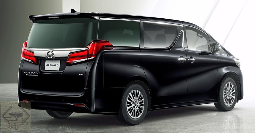 toyota alphard2 - Toyota представила обновлённый минивэн Alphard для России