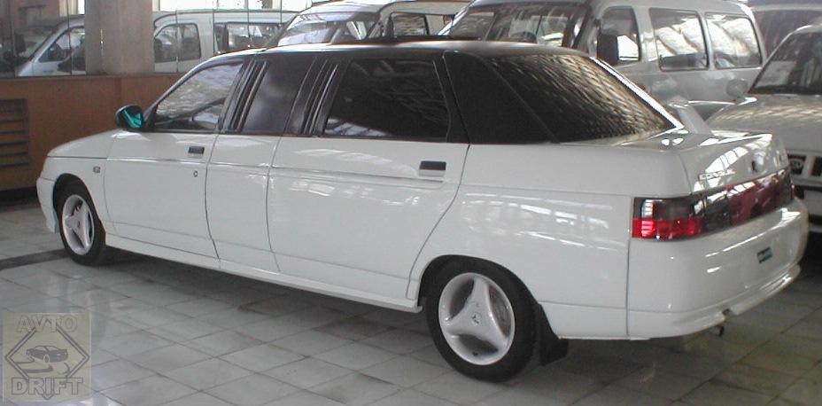 001 0 - Немного истории: Первый лимузин современной России - ВАЗ-21109 «Консул»