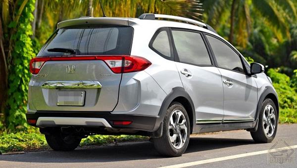 090318 25 - Машина «для повседневных дел» Honda BR-V второго поколения станет доступна во всём мире