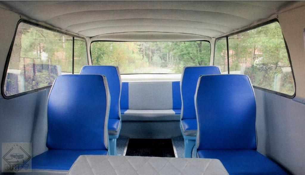 1 1 - Немного истории: Первый советский микроавтобус «Старт» с кузовом из стеклопластика
