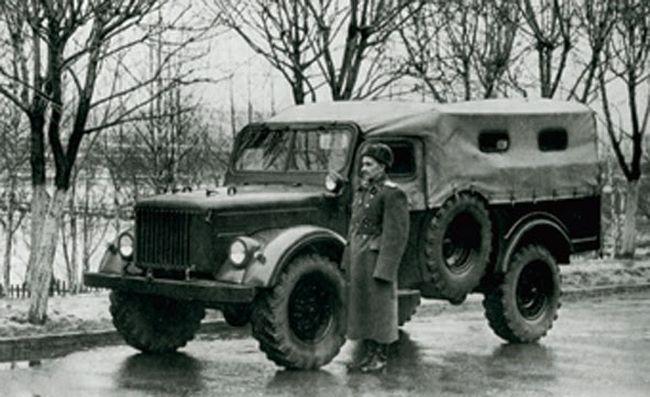 10 003 - Немного истории: ГАЗ-62 - первый советский полноприводный армейский вездеход