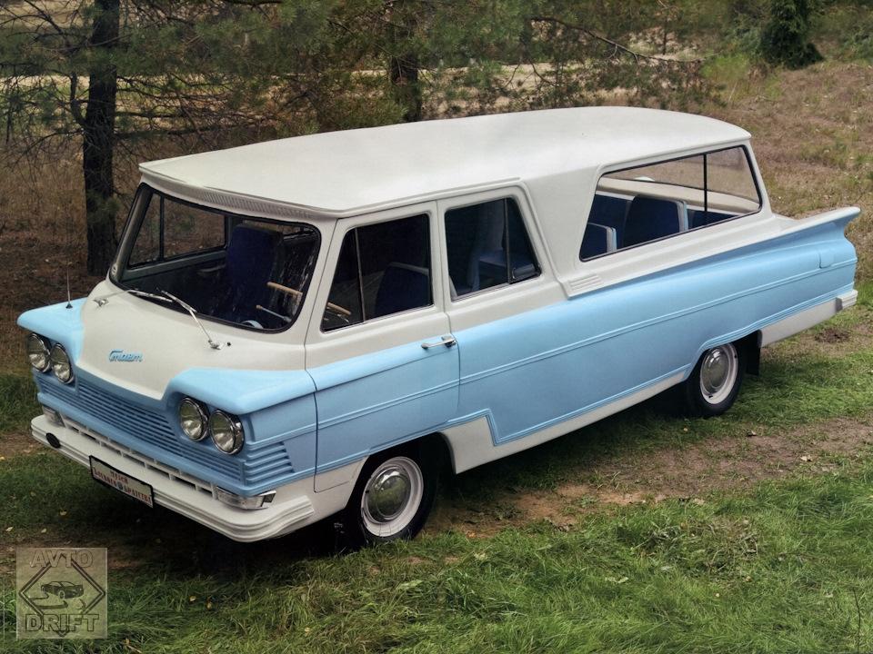 1113 - Немного истории: Первый советский микроавтобус «Старт» с кузовом из стеклопластика