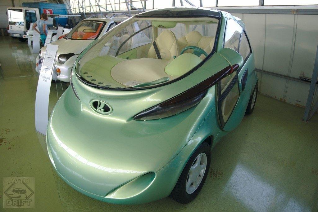 1428492499 vaz - Немного истории: Первый электромобиль современной России - LADA Rapan