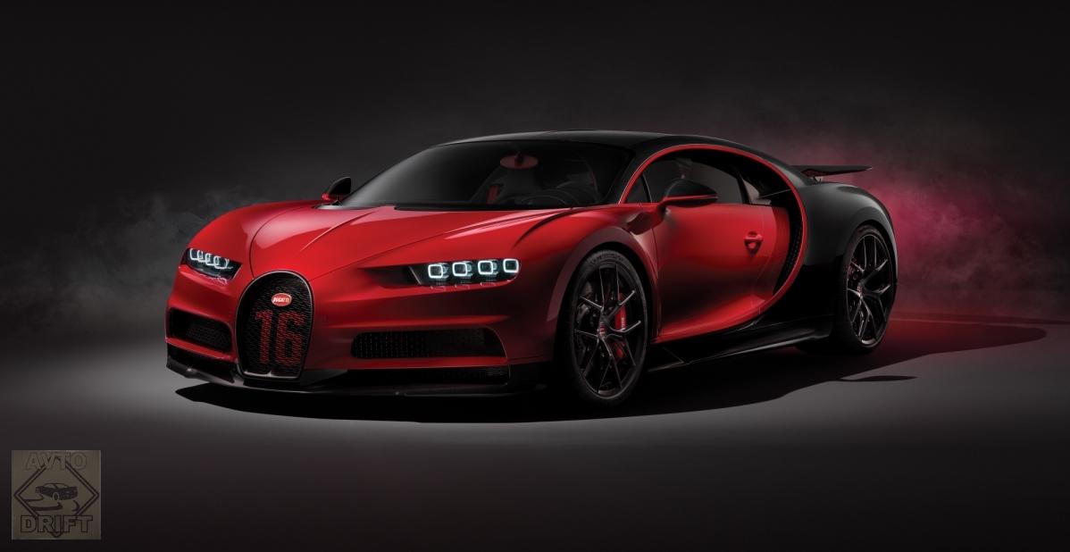 2 1 1 - Обновлённый Bugatti Chiron Sport  будет стоить более 186 млн. рублей