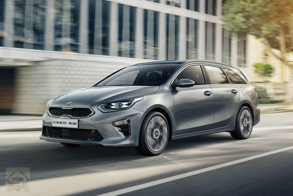 2018 kia ceed sportswagon - Kia представила в Женеве Ceed Sportswagon третьего поколения
