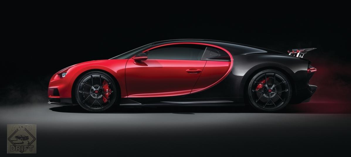 3 1 - Обновлённый Bugatti Chiron Sport  будет стоить более 186 млн. рублей