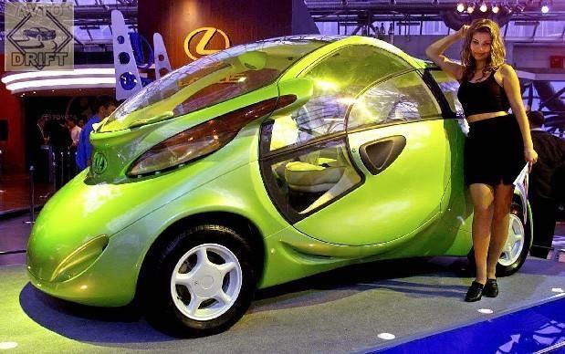 36040 original - Немного истории: Первый электромобиль современной России - LADA Rapan