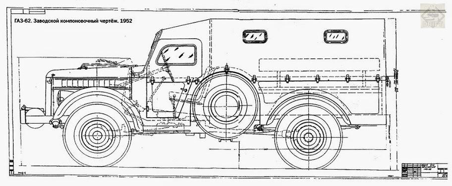 48bc16s 960 - Немного истории: ГАЗ-62 - первый советский полноприводный армейский вездеход
