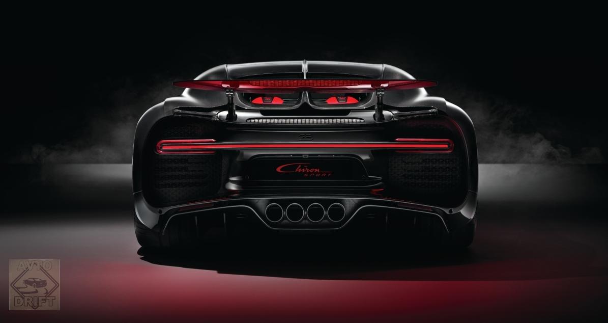 5 1 - Обновлённый Bugatti Chiron Sport  будет стоить более 186 млн. рублей