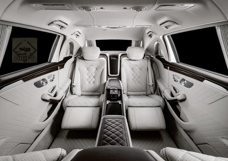 572f566032aa00f0d8d0b806c35ff31570e0d14f - Mercedes-Benz представил обновлённый Maybach Pullman