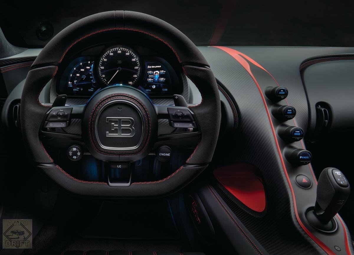 6 1 - Обновлённый Bugatti Chiron Sport  будет стоить более 186 млн. рублей