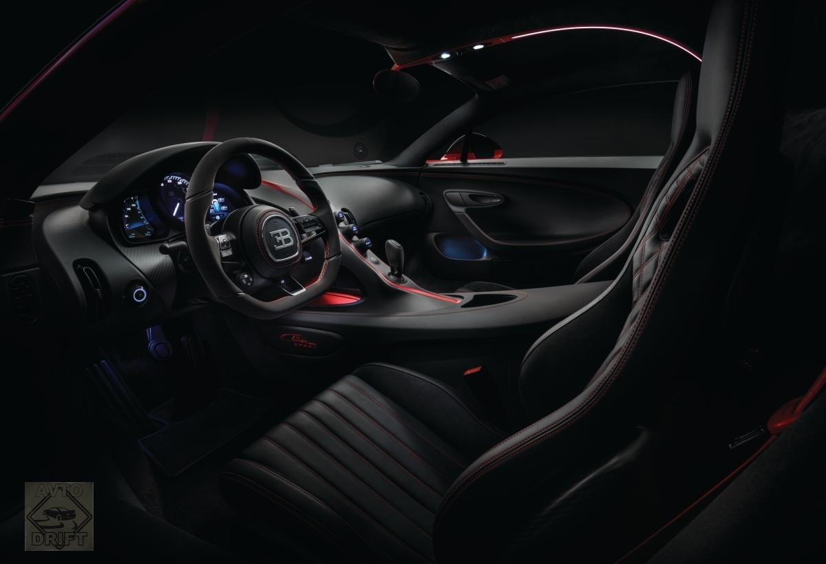 8 1 - Обновлённый Bugatti Chiron Sport  будет стоить более 186 млн. рублей