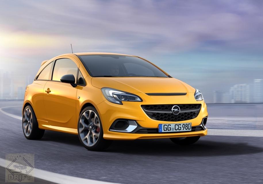 8a42a1d5718b0042af9dd6b85e2e06a31cae573f - Opel представила новую спортивную версию Corsa