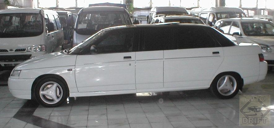 960 - Немного истории: Первый лимузин современной России - ВАЗ-21109 «Консул»