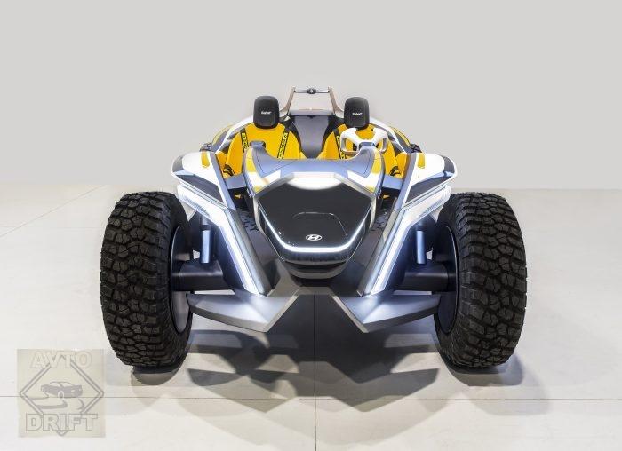 965cbeec275ad6b5990e24fd03878398 - Hyundai представил на автосалоне в Женеве двухместный квадрогидроцикл Kite на электрической тяге