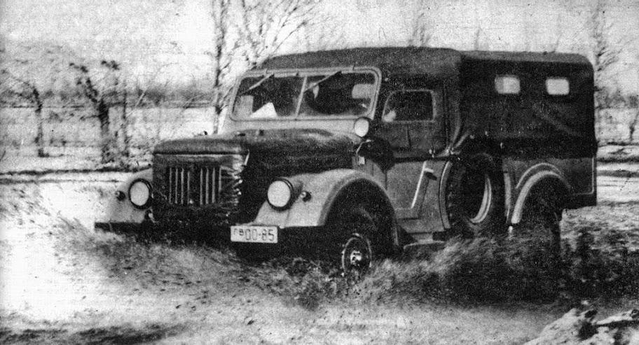 9 009 - Немного истории: ГАЗ-62 - первый советский полноприводный армейский вездеход