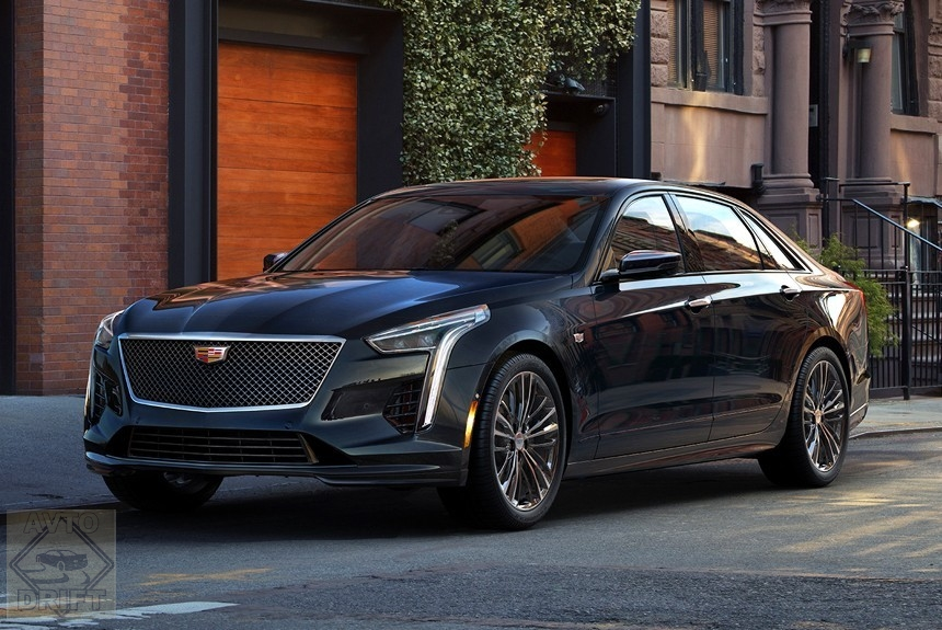 Article 163942 860 575 - Cadillac представил модернизированный «заряженный» седан CT6 V-Sport
