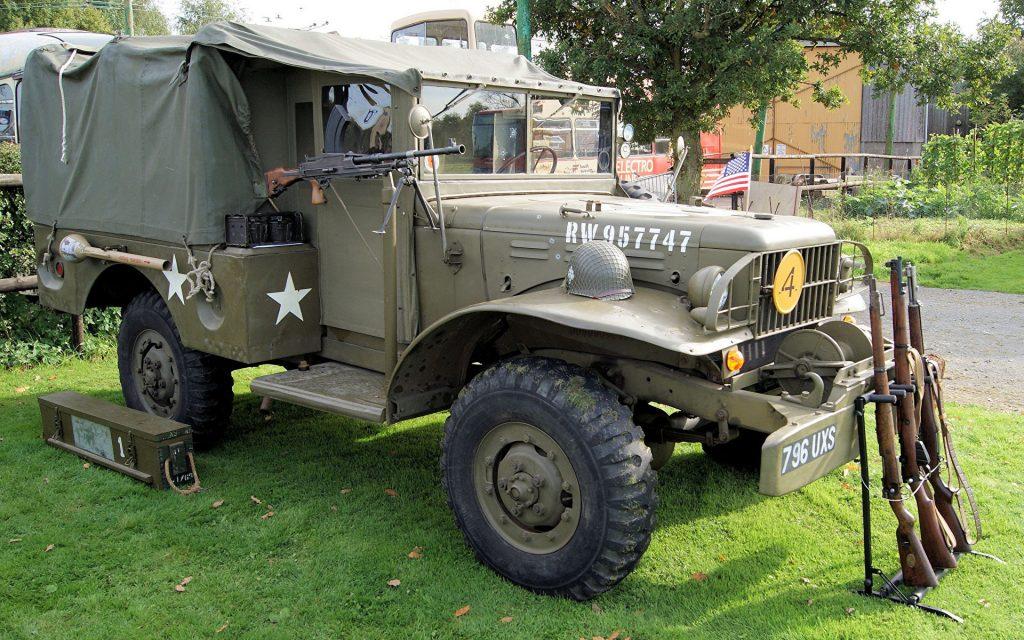 Dodge Retro 1943 WC51 442851 1920x1200 1024x640 - Немного истории: ГАЗ-62 - первый советский полноприводный армейский вездеход