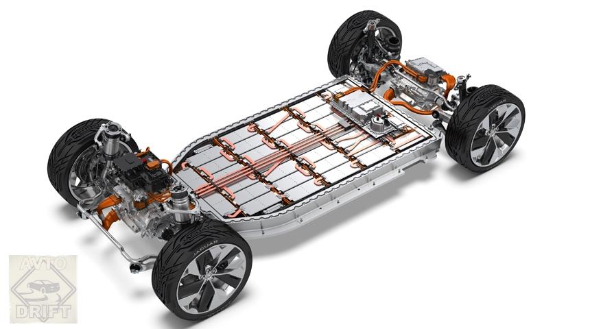 Jaguar i pace cutaway - JAGUAR объявил дату дебюта серийного электрокроссовера I-PACE