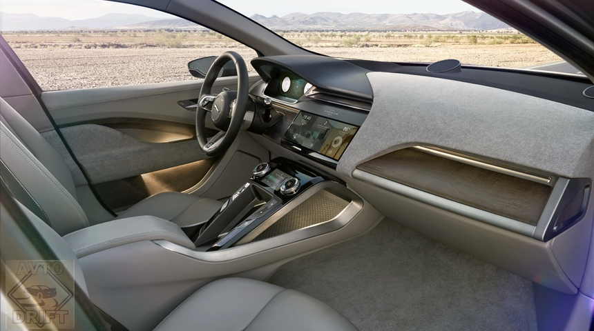 Jaguar i pace int1 - JAGUAR объявил дату дебюта серийного электрокроссовера I-PACE