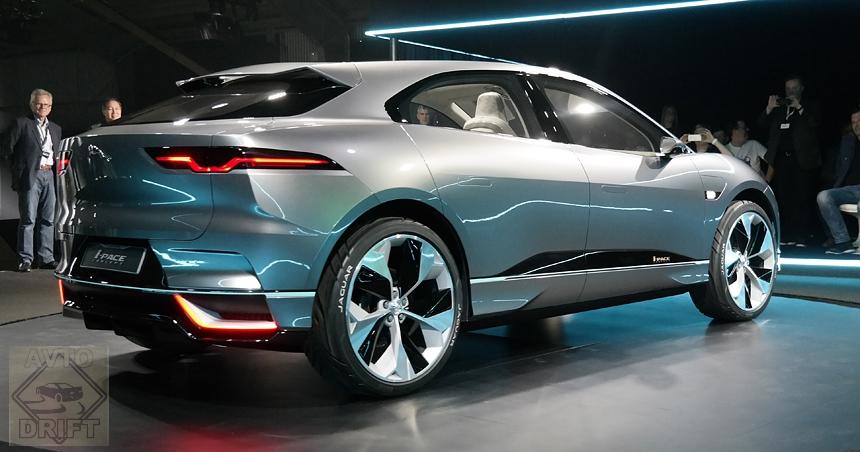 Jaguar i pace2 - JAGUAR объявил дату дебюта серийного электрокроссовера I-PACE