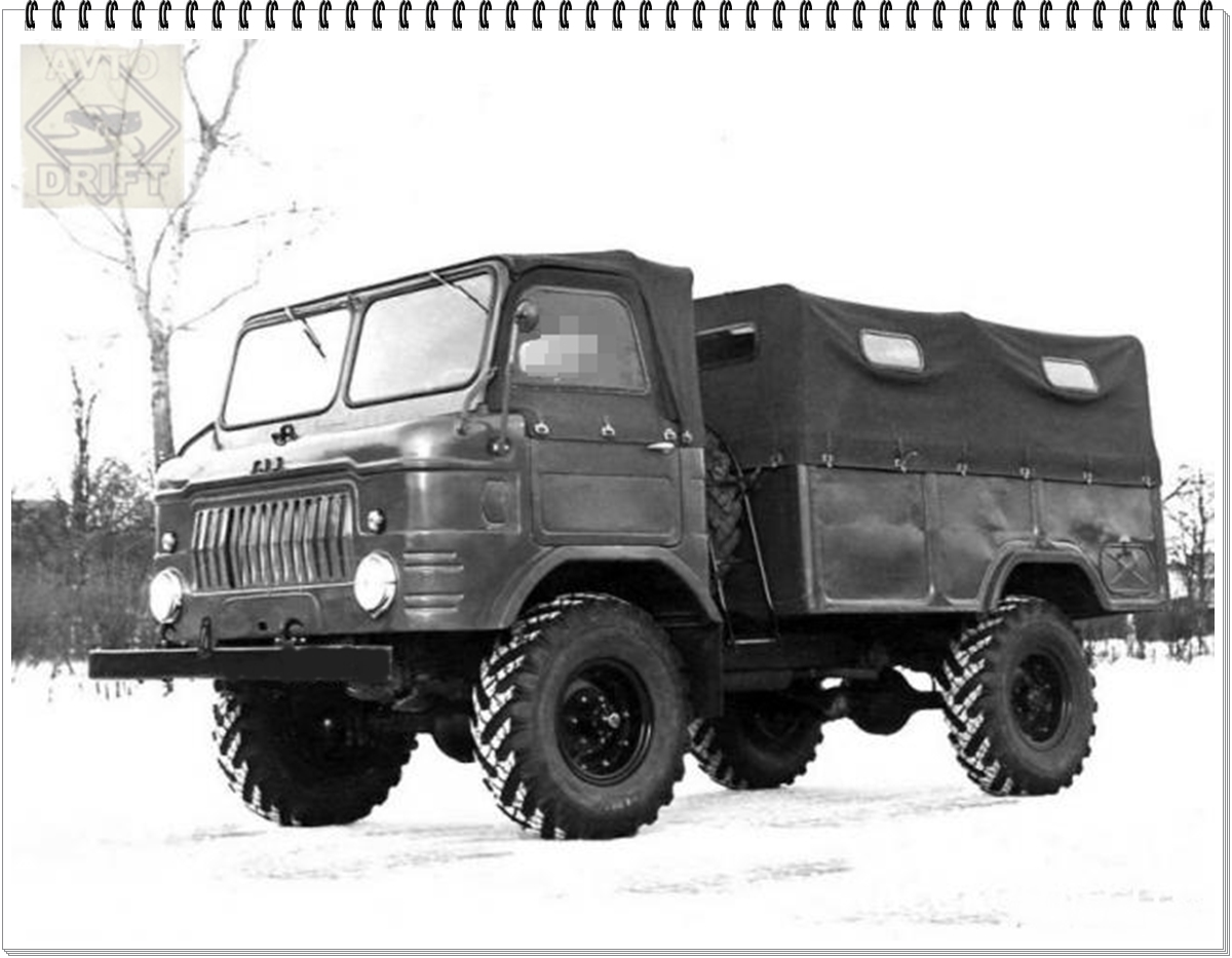 VAZ 648733 0946bc7b815fd6ce60e3c81438268a69 18 - Немного истории: ГАЗ-62 - первый советский полноприводный армейский вездеход