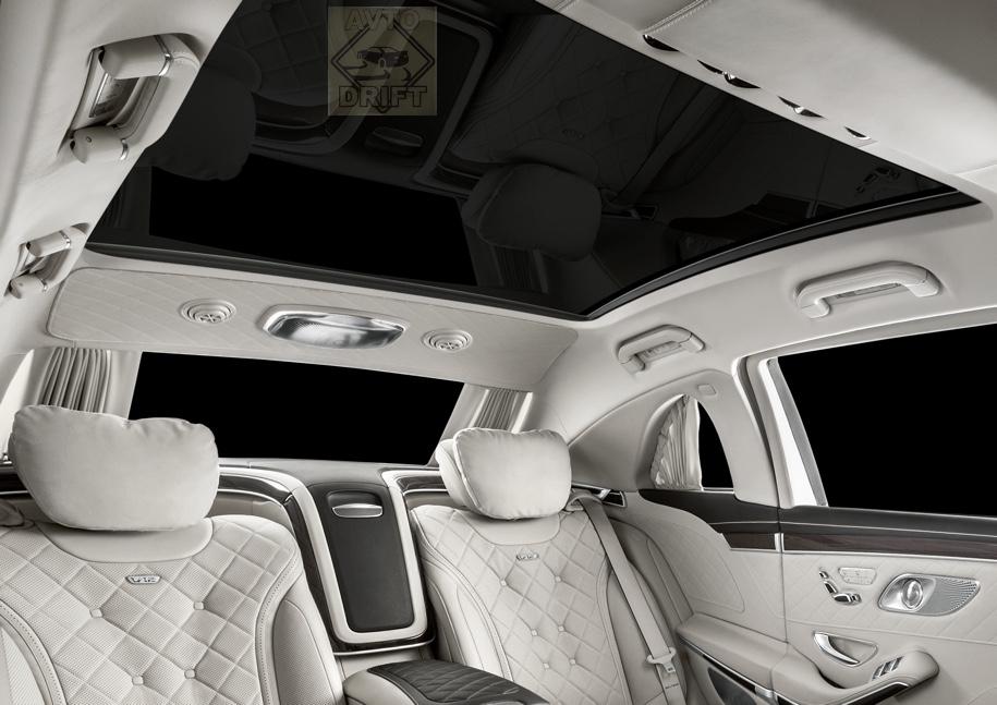 c9834e12fdf004d2fdabf93a7efae14bc7f76a7c 1 - Mercedes-Benz представил обновлённый Maybach Pullman