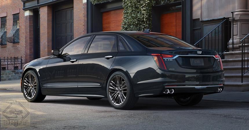 cadillac ct6 vsport2 - Cadillac представил модернизированный «заряженный» седан CT6 V-Sport