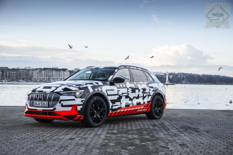 d0138e357a40e39284bfd2883a168332a1dd9c09 - Компания Audi определилась со стоимостью нового электрического кроссовера E-Tron