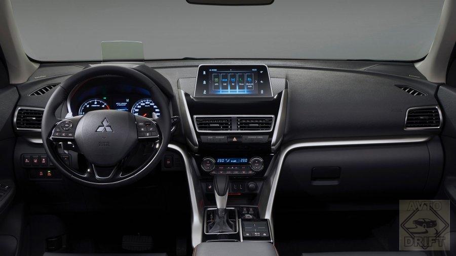 file060218123106 - Mitsubishi полностью адаптировала новый Eclipse Cross под российские условия и готова к старту продаж
