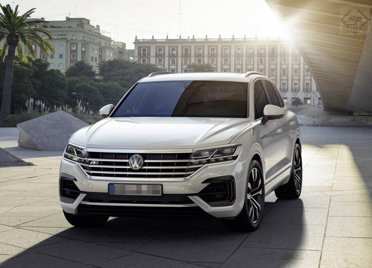 nuova volkswagen touareg 1 - Volkswagen официально представил Touareg нового поколения